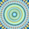 Геометрична мандала арт видео с музика
